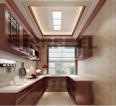 轻奢型欧式厨房设计鉴赏 带来的不仅是风格